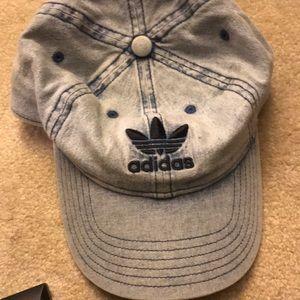 adidas Accessories - Adidas skateboarding light wash Jean hat